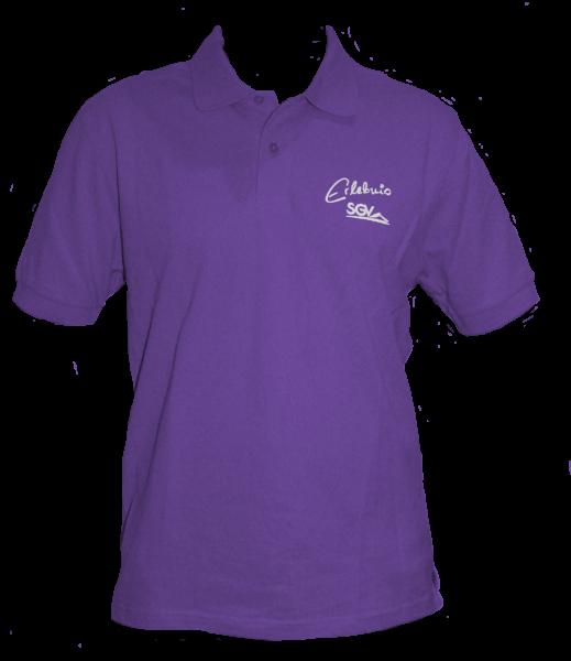 Poloshirt Herren purple