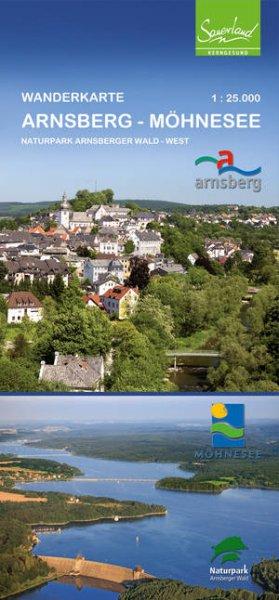 Wanderkarte Arnsberg-Möhnesee