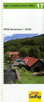 Wanderkarte Hagen, Gevelsberg, Iserlohn, Witten