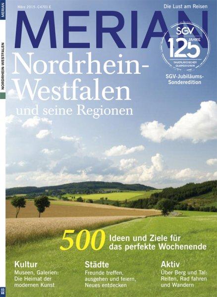 MERIAN NRW SGV-Sonderheft !SONDERPREIS!