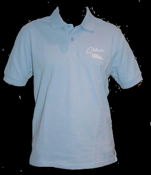 Poloshirt Herren hellblau