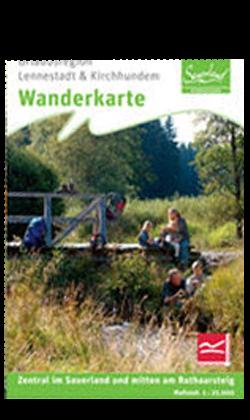 Wanderkarte Lennestadt/ Kirchhundem