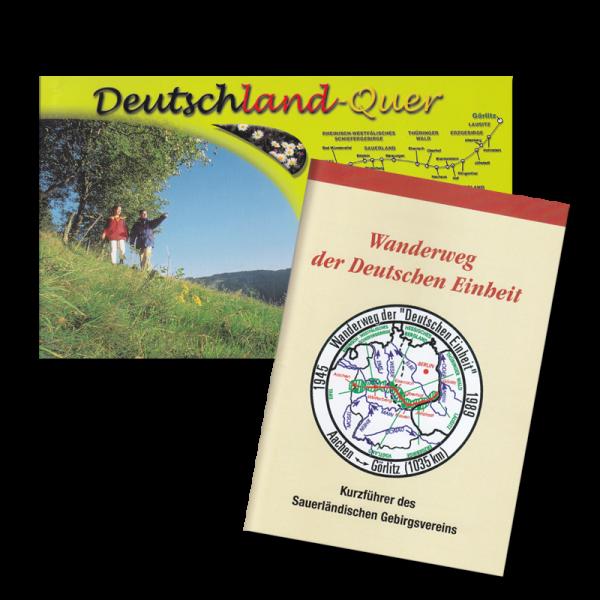 Deutschland Quer - Wanderweg der Deutschen Einheit inkl. überarbeiteter Kurzführer