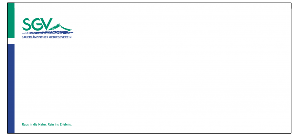 Briefumschlag mit Fenster/ohne Fenster