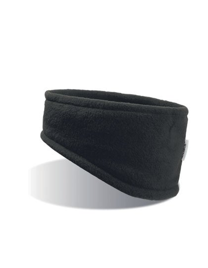 Stirnband Fleece schwarz