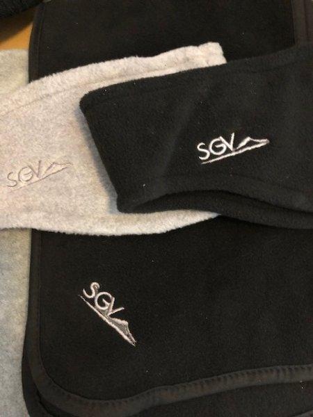 Fleece-Schal und Fleece-Stirnband im Set